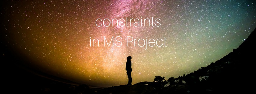 Constraints in MS Project