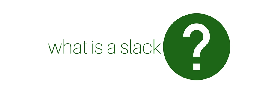 What is a slack in MS Project?